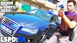GTA 5 LSPD:FR - Kriminalpolizei in Los Santos  - Deutsch - Polizei Mod #61 Grand Theft Auto V