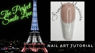 Smile Line Gel Polish | Perfect French Manicure Tips | French Gel Polish | Nail Art Design