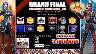 GRAND FINAL TOURNAMENT MAFIA KENDARI TOTAL HADIAH 5 JUTA !! # GIVE AWAY PULSA CEK DESKRIPSI