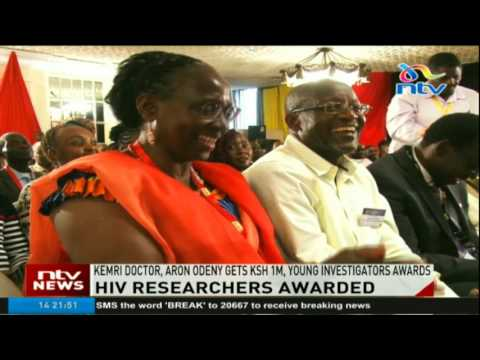 KEMRI doctor, Aron Odeny gets Ksh 1M at the Young Investigators Awards