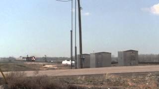 BNSF Train near Woodward, Oklahoma