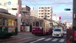 広島電鉄600形602号 貸切 宇品二丁目〜宇品三丁目