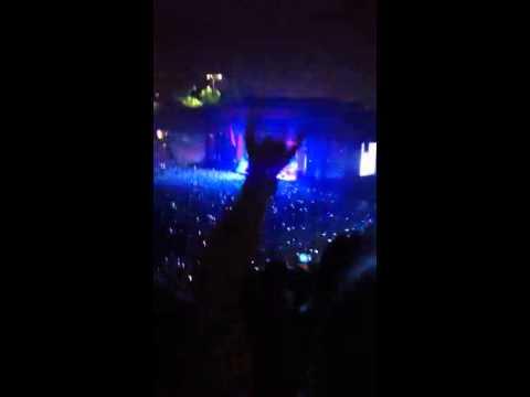 Justin Timberlake concert Rose Bowl