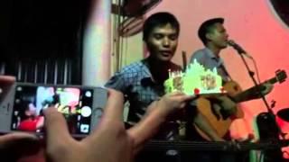 Sinh nhật rực rỡ của Guitar bass FA Mai Vinh với G4U Cafe (7-9-15)