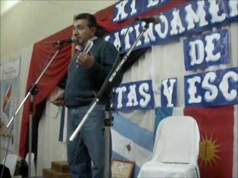 José Abraham Soraire Alma de Gorrión Reencuentro Julio 2012