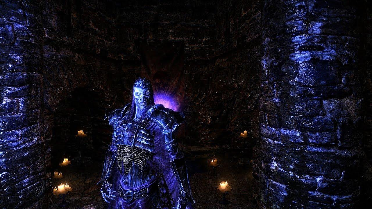 Skyrim : walkthrough undeath (l'immortel) 6 transformation liche ...
