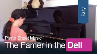 The Farmer in the Dell | Free Sheet Music for Beginner Piano