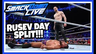 AIDEN ENGLISH ATTACKS RUSEV REACTION!!! RUSEV DAY IS OVER!!! WWE Smackdown Live 9/18/18