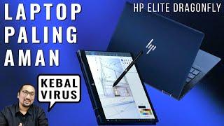 Laptop Paling Aman di Dunia? Review HP Elite Dragonfly - Indonesia