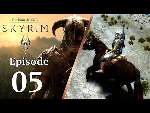 The Elder Scrolls V: Skyrim® -  Riding Horseback to Ivarstead: Ep 05 [Nintendo Switch | Bethesda]