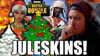 JULESKINS NOG OPS OG YULETIDE I FORTNITE!?😲🎄