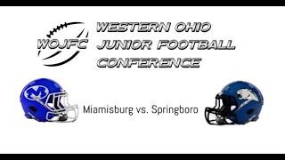 WOJFC 3rd grade Championship game: Miamisburg v. Springboro
