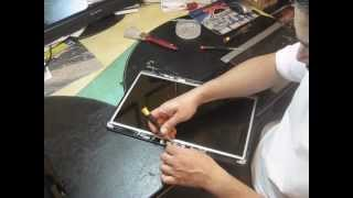 How to replace Fujitsu Lifebook A Series laptop LCD screen
