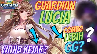 REVIEW GUARDIAN LUCIA - ADA COMBO YANG LEBIH GG? 🤔 - LINE Let's Get Rich Indonesia #492
