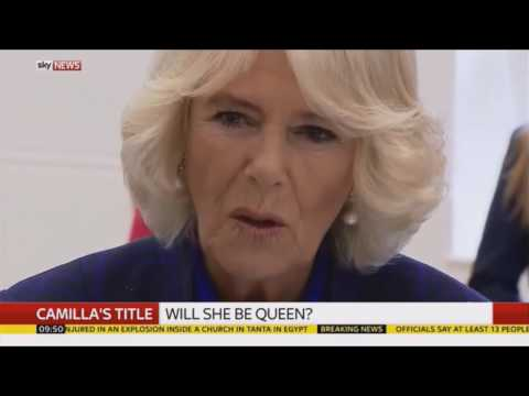 "Sky News UK | ""Camilla's Title"" Discussion - (09.04.2017)"