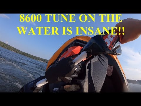 The 8600 tune on the Sea Doo Spark Trixx is NUTS! - YouTube
