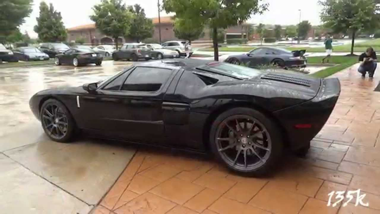 Loud Ford Gt Start Up Revs And Acceleration