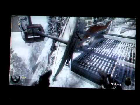 Call Of Duty Black Ops PLaces To Snipe  Hiding Spots Online Summit Map
