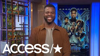 'Black Panther's' Breakout Star Winston Duke Dishes On His Friendship With Lupita Nyong'o | Access
