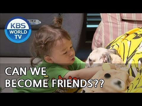 "William X Mandu ""Can we become friends?"" [The Return of Superman/2018.09.16]"