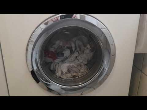 Miele W Classic WDA 111 Eco Waschmaschine: Hier mal die Laugenabkühlung und das erste Spülschleudern :)