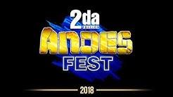 Andes Fest, segunda edición, 13 de octubre 18h00