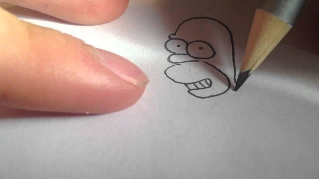 homer simpson zeichnen comic figur malen youtube. Black Bedroom Furniture Sets. Home Design Ideas