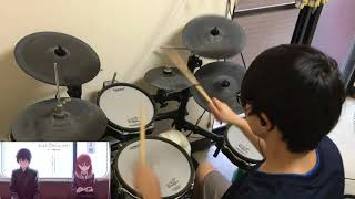 Just Because ! Opening【over and over】「やなぎなぎ」叩いてみた Drum Cover