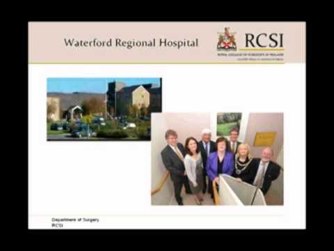 Irish Opportunites for Medical Graduates: Mr Daragh Moloney