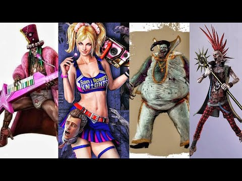 Lollipop Chainsaw - All Bosses (With Cutscenes) [HD]