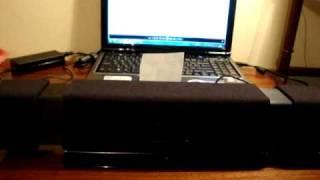Logitech AudioHub SubWoofer Test. Bass I Love You! (HQ)