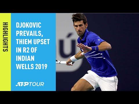 Highlights: Djokovic Beats Tomic In Miami 2019 Opener