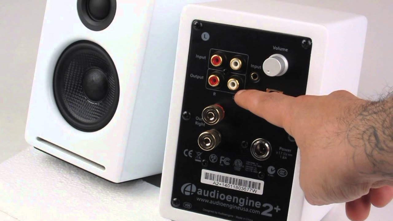 Audioengine A2 Speaker Review By Turntablelab Com Youtube