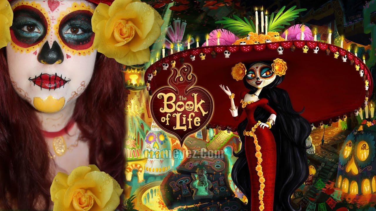 Book Of Life ( La Muerte) El Libro De La Vida Makeup