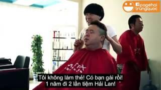Hài trung quốc - tiệm cắt tóc lầy nhất hệ mặt trời =))
