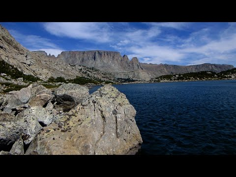 Wyoming Wind River Range Fishing And Backpacking/Sonnicant Lake