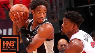 Miami Heat vs San Antonio Spurs - Full Game Highlights | October 8, 2019 NBA Preseason