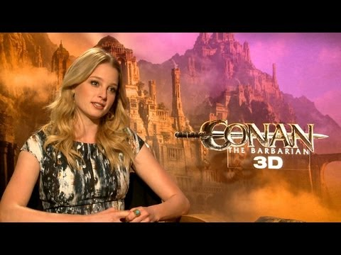 'Conan the Barbarian' Rachel Nichols 'Not My Boobs' Interview