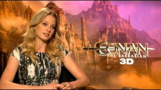 'Conan the Barbarian' Rachel Nichols 'Not My Boobs' Interview