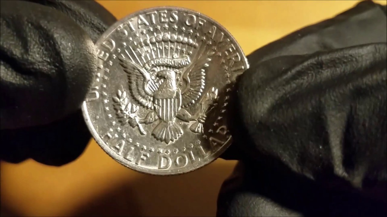BROCKAGE Error Kennedy Half Dollar coin found