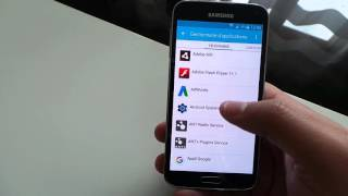 Tutoriel pour copier/ transferer  les applications sur la carte sd samsung galaxy