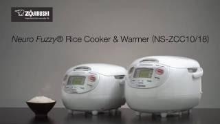 Zojirushi Neuro Fuzzy® Rice Cooker & Warmer NS-ZCC10/18