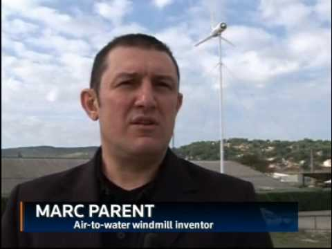 Inventor makes water out of air-Windmill/Aerogenerador Video Reuters