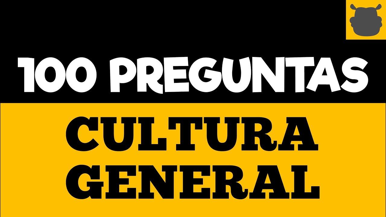 Download 100 Preguntas de CULTURA GENERAL 🧶🧶 ¿Cuánto Sabes Verdaderamente?