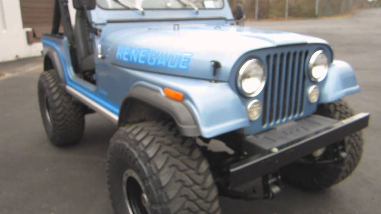 1985 amc cj7 pictures