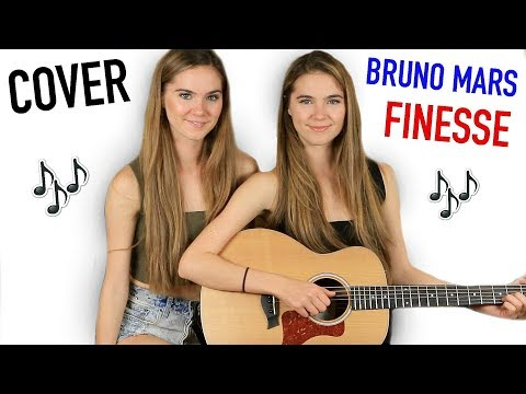 Bruno Mars - Finesse - COVER By Nina and Randa