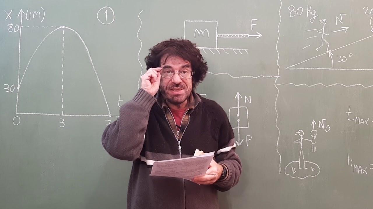 1ra EVALUACIÓN FORMATIVA (resuelvo los ejercicios)   Biofísica CBC   Física en Segundos (por Aníbal)