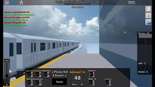 [ROBLOX MTA] R142A 8 Train via 4 departs 161 st