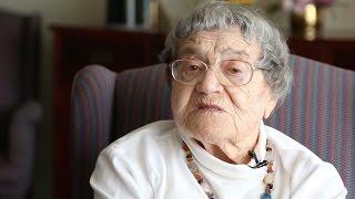 She's 91 but she feels 15. Here's her secret
