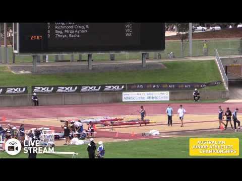 53rd Australian Junior Athletics Championships - Sydney Olympic Park - Sunday Afternoon